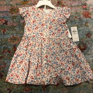 Beautiful Floral Dress with Bloomers
